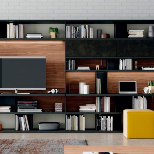 Nos encanta la posibilidad de combinaciones que nos aporta el mobiliario contemporáneo.